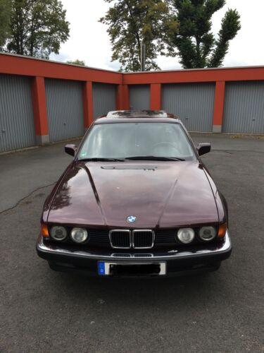 BMW E32 735i Brokatrot Scheckheftgepflegt