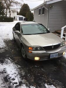 Mint. 2002 Lincoln LS v8 trade for sled or atv