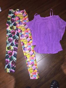 Youth size 16 spring outfits. Pants never worn