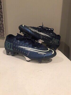 Nike Mercurial Vapor 13 Elite MDS FG Soccer Cleats Blue CJ1295-401 Men's Size 6