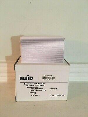 Awid Cs-awid-p-0 Proximity Cards Pack Of 25