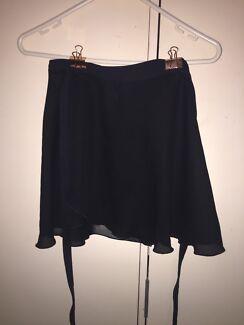 Energetiks Black Ballet Skirt (sheer)
