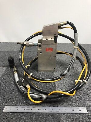 Huck Hydraulic Fastenerrivet Gun Wconverter And Hose. Head Model 568