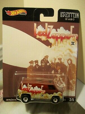 Hot Wheels Premium Pop Culture Led Zeppelin Supervan Real Riders