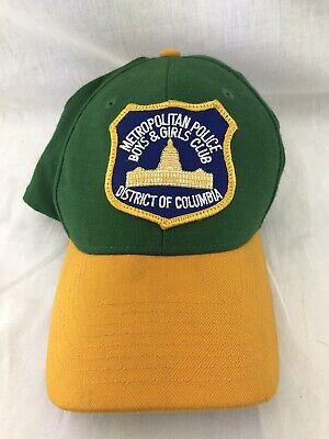 Boys Police Hat (DC Metropolitan Police Hat Boys & Girls Club Of America Columbia Baseball)