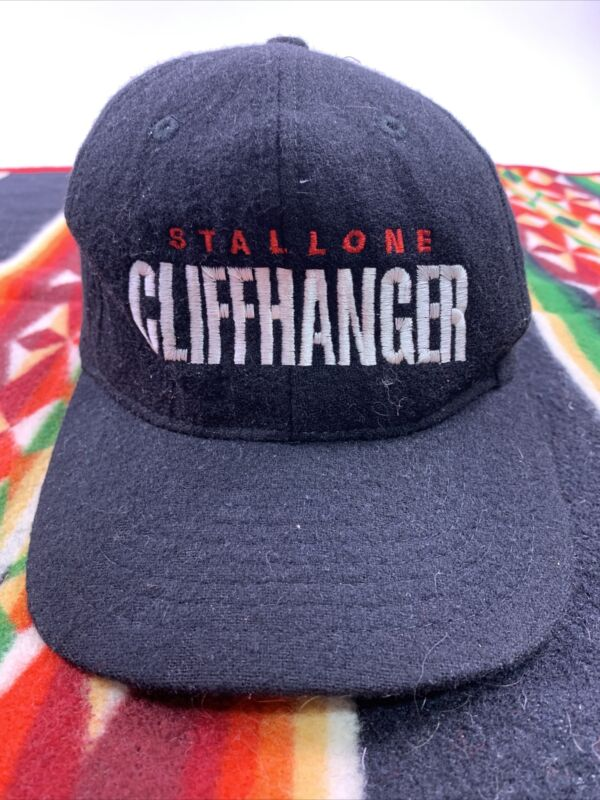 Cliffhanger Movie Hat Cap Mens Vintage Cast Crew Promo Stallone USA 80s 90s