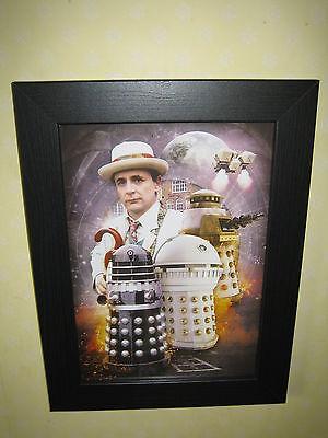 Dr Who (Ref 9) Excellent Framed Print (A4)
