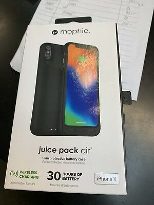 Mophie Juice Pack Air iPhone X Battery Charging Case -...