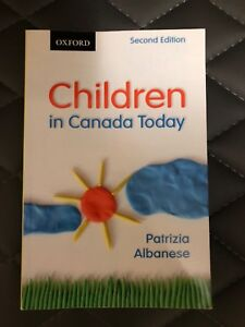 HREQ 1800 Children in Canada Today Second Edition