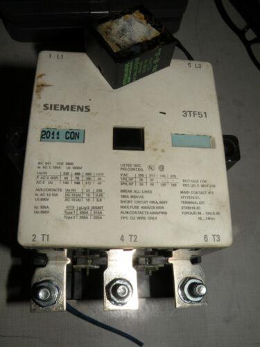 Siemens Contactor Motor Starter 3TF51