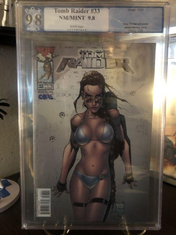 Tomb Raider #33 PGX 9.8 Tony Daniel Variant