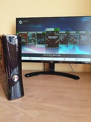 Xbox 360 Slim 500gb RGH (Jtag) (Games Pre-Installed)