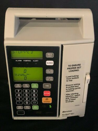 Baxter Flo-Gard 6201 Pump Patient Ready w/ New Battery, Certification, Warranty