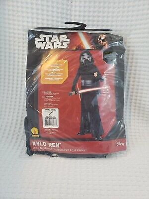 NEW Star Wars KYLO REN Child Costume Size Small 4-6 Disney Dress-Up Play