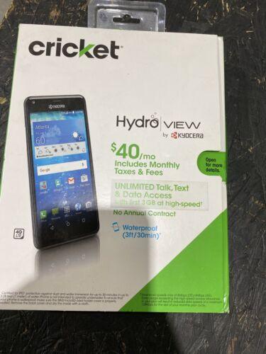 "New Kyocera Hydro View C6742 Cricket Waterproof GSM 5""qHD"