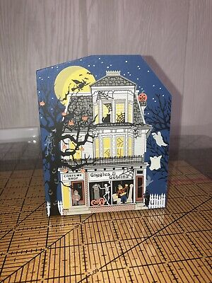 2001 THE CATS MEOW TWILIGHT Giggles & Goblins LIMITED EDITION HALLOWEEN 1998