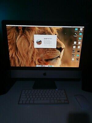 Apple iMac 21.5 inch - 3.06GHZ - Late 2009 - 8gb RAM - 500GB SSD OSX High Sierra