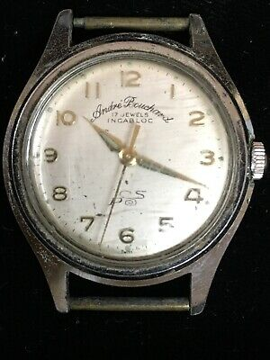 Vintage Mens 17j Automatic Andre Bouchard No Band