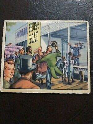 1949 Bowman Wild West G-11 (from set building)