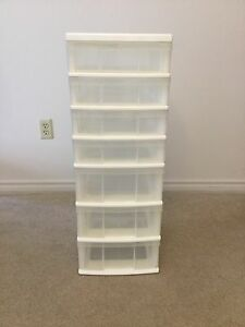 Plastic Organizer with drawers