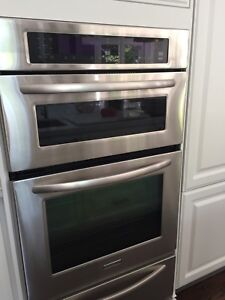 KitchenAid walloven / convection/microwv  warming drawer,gas top