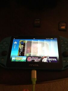 Ps vita aqua blue edition.
