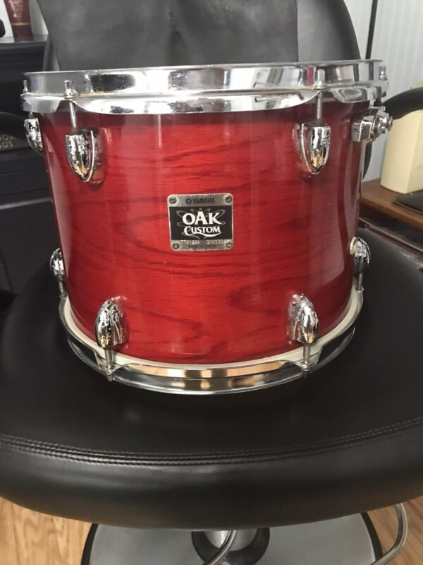 "Yamaha Oak Custom 9"" x 12"" tom tom drum"