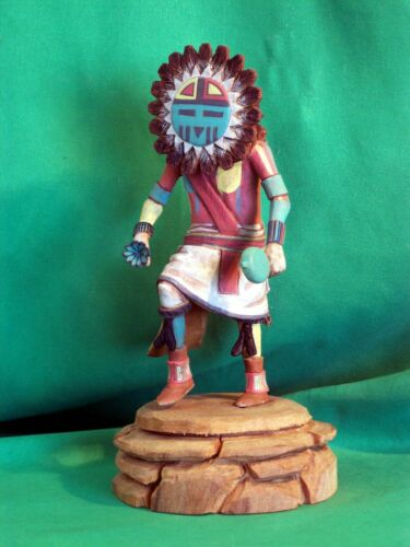 Hopi Kachina Doll - Tawa, the Sun Kachina by Clayton Kaniatobe - Gorgeous!
