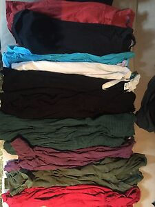 Large lot of maternity winter clothes