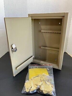 30 Key Storage Key Lock Box Security Safe Wall Mount Cabinet Free Shipp