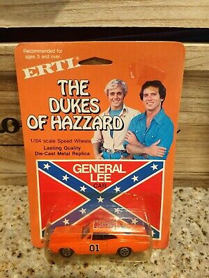 ERTL 1981 The Dukes of Hazzard General Lee 1/64 diecast 1969 Dodge Charger #42