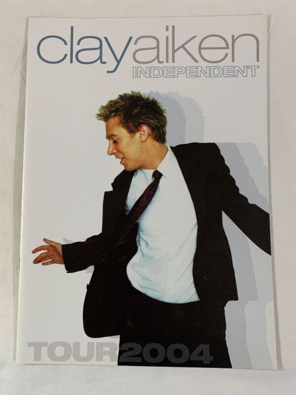 Clay Aiken Independent Tour 2004 Souvenir Book