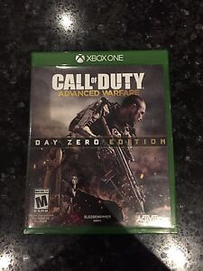 Call of duty: Advanced Warfare Day Zero Edition for Xbox One