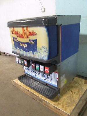 Cornelius- Df250-bc Commercial Heavy Duty Lighted 8 Heads Soda Wice Dispenser