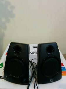 Logitech desk speakers