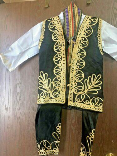 "Kids  Lebanese  Traditional suit  costum pant-jacket - sheerwall -  ""   شروال """