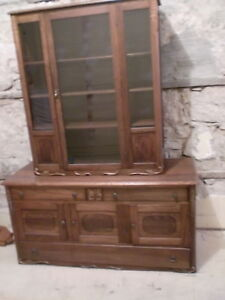 Antique Buffet/Hutch by Knechtel