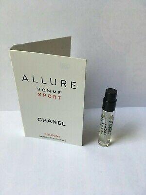 Chanel Allure Homme Sport Cologne spray vial EDT 2 ml