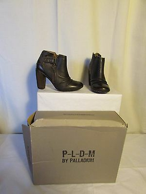 Boots/bottines palladium dark brown 36