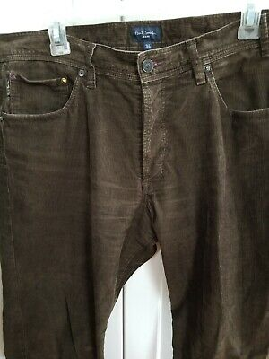 Paul Smith Jeans brown corduroy jeans, 34W, MSRP $150