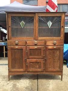 Kitchen cabinet, cabinet, display cabinet, vintage WE CAN DELIVER Brunswick Moreland Area Preview