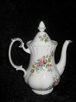 Royal  Albert -1 x Kaffeekanne * Moosrose *  - Neu !