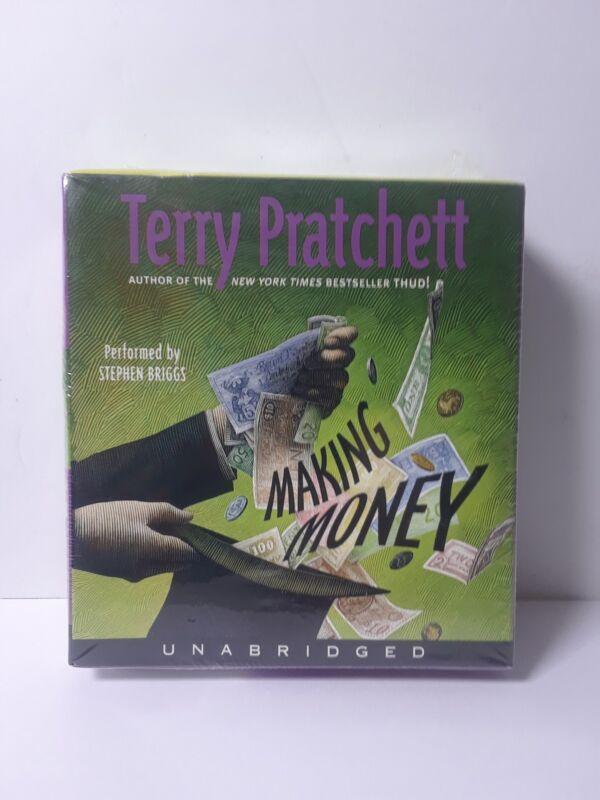 Making Money By Terry Pratchett Unabridged Audio Book 9-CD Set