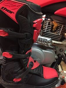 SIZE 10 THOR motocross boots