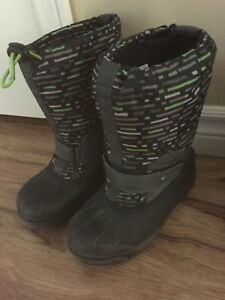 Columbia winter boots - boys size 2