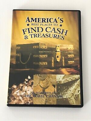 America's Best Places To Find Cash & Treasures DVD Travel Channel Rare OOP (Best Places To Find Treasure)