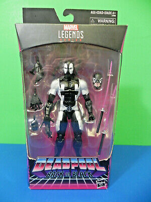 Marvel Legends 2017 Deadpool Back In Black Hasbro Figure Sealed Symbiote