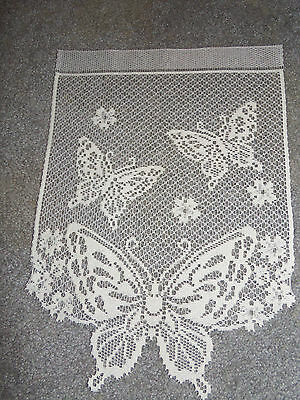 Ткань Lot 202 White Lace Butterfly
