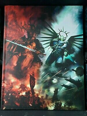 Warhammer 40k 9th Edition Core Rule Book New Indomitus *Free Shipping* Hardcover