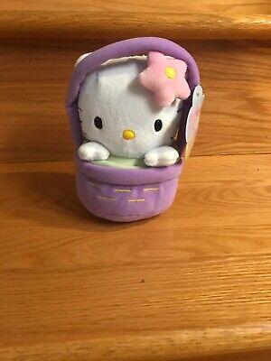 New w/tags Hello Kitty Flower Purple Easter Basket Plush Figure](Spongebob Easter Basket)